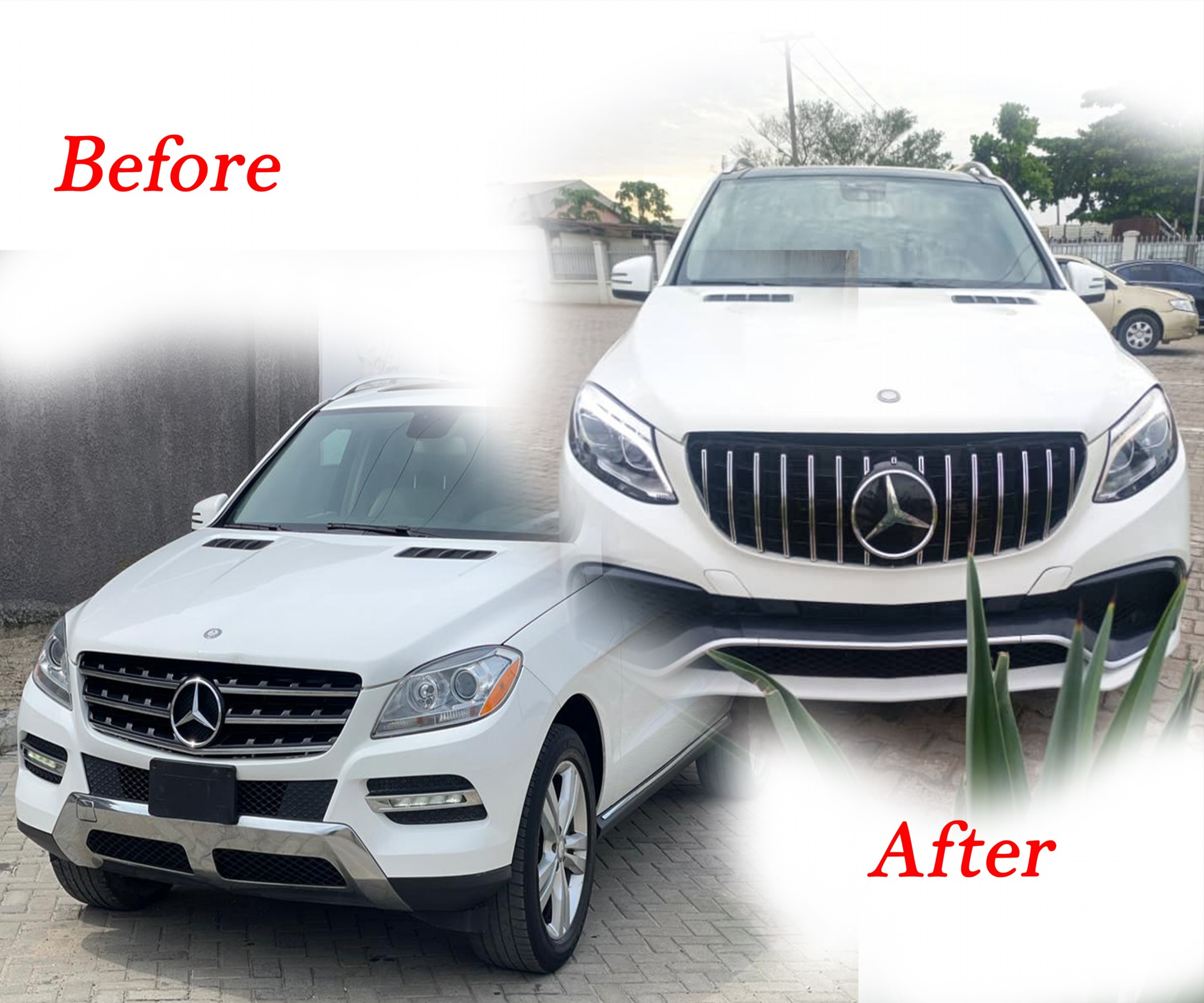 Cost of upgrading Mercedes Benz ML350 to GLE in Nigeria