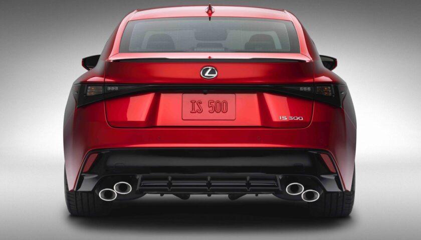Exhaust system 2022 Lexus IS 500 F SPORT Performance Edition price in Nigeria