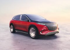Mercedes-Maybach EQS concept in 2021