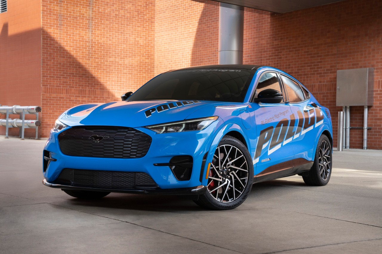 Check out Ford's all-electric police pilot vehicle